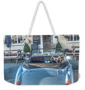 English Pub English Car Weekender Tote Bag