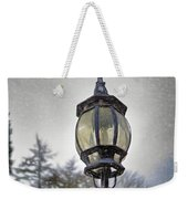 English Victorian Style Park Lamp Weekender Tote Bag