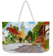 English Village Street Weekender Tote Bag