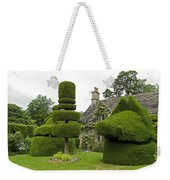 English Yew Topiary Weekender Tote Bag