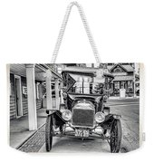 Englishtown New Jersey Antique Classic Car Weekender Tote Bag
