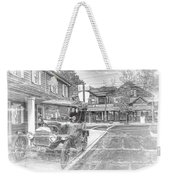 Englishtown New Jersey Classic Car Weekender Tote Bag