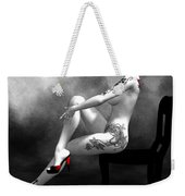 Engrossing Mood Weekender Tote Bag