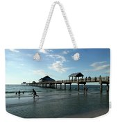 Enjoy The Beach - Clearwater Pier Weekender Tote Bag