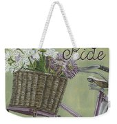 Enjoy The Ride Weekender Tote Bag