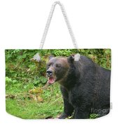 Enjoying Breakfast Weekender Tote Bag