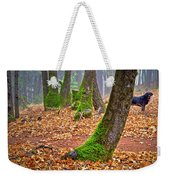 Enjoying The Forest Of Oak Run Weekender Tote Bag