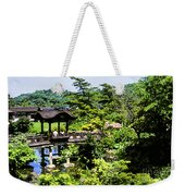 Enjoying The Garden Weekender Tote Bag