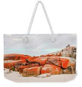 Enjoying The Moment Bay Of Fires Weekender Tote Bag