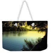 Enjoying The Scenic Beauty Of The Sacramento River Weekender Tote Bag