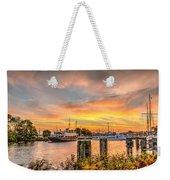 Enkhuizen Sunset Weekender Tote Bag