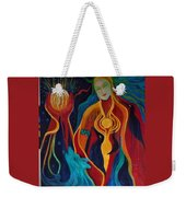 Enlightenment Weekender Tote Bag