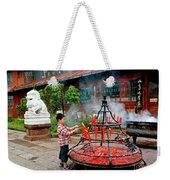 Enlightenment Weekender Tote Bag