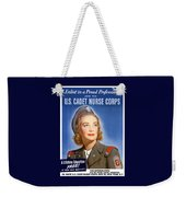 Enlist In A Proud Profession - Join The Us Cadet Nurse Corps Weekender Tote Bag