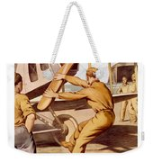 Enlist In The Air Service Weekender Tote Bag