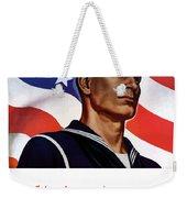 Enlist In Your Navy Today - Ww2 Weekender Tote Bag