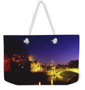 Ennis, Co Clare, Ireland Bridge Over Weekender Tote Bag