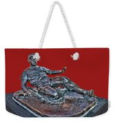 Enos Country Slaughter Statue - Busch Stadium Weekender Tote Bag