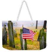 Enriched American Flag - Remember Weekender Tote Bag