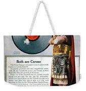 Enrico Caruso (1873-1921) Weekender Tote Bag