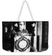 Enrico Caruso, Last Known Photo, 1921 Weekender Tote Bag