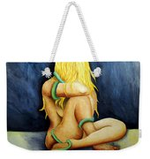 Entangled Female Figure  Weekender Tote Bag