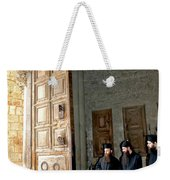 Enter In Weekender Tote Bag