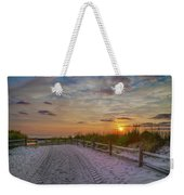 Enter Paradise- Avalon New Jersey Weekender Tote Bag