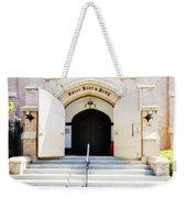 Enter, Rest And Pray Weekender Tote Bag