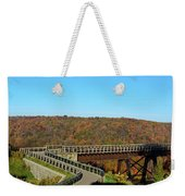 Enter The Kinzua Skywalk Weekender Tote Bag