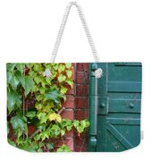 Enter Vine Door Weekender Tote Bag