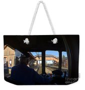 Entering The Station Weekender Tote Bag