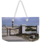 Entrance Of A Lighthouse, Cape Recife Weekender Tote Bag