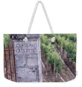 Entrance Of A Vineyard, Chateau La Weekender Tote Bag