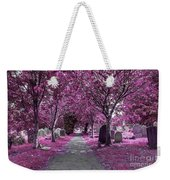 Entrance To A Cemetery Weekender Tote Bag