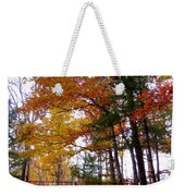 Entrance To A Mahayana Buddhist Temple Weekender Tote Bag