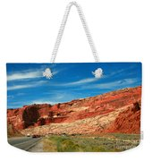 Entrance To Arches National Park Weekender Tote Bag