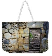 Entrance To Machupicchu Weekender Tote Bag