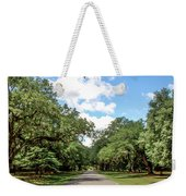 Entrance To Mepkin Abbey Weekender Tote Bag