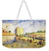 Entrance To Paris With A Horsecar Weekender Tote Bag
