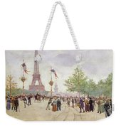 Entrance To The Exposition Universelle Weekender Tote Bag