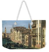 Entrance To The Grand Canal Looking West Weekender Tote Bag
