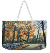 Entrance To The Greenhouse Weekender Tote Bag