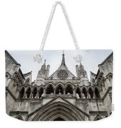 Entrance To The Royal Courts London Weekender Tote Bag