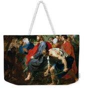Entry Of Christ Into Jerusalem Weekender Tote Bag