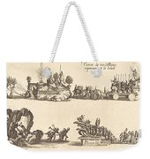 Entry Of His Highness, Representing The Sun Weekender Tote Bag