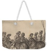 Entry Of Marie De Medici Into Amsterdam [plate 5 Of 6] Weekender Tote Bag