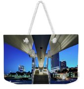 Entry To The City Weekender Tote Bag