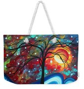 Envision The Beauty By Madart Weekender Tote Bag by Megan Duncanson