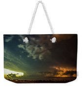 Epic Nebraska Lightning 006 Weekender Tote Bag
